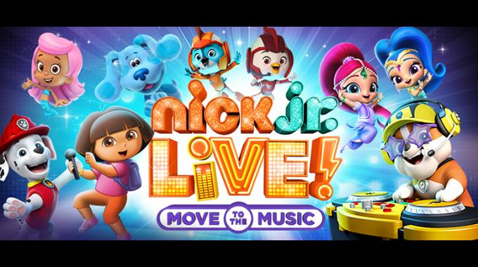Nick Jr. Live! Move to the Music at Tennessee Performing Arts Center