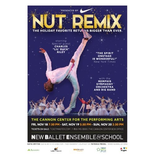 New Ballet's Nut Remix at Tennessee Performing Arts Center