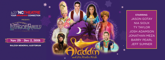 Aladdin And His Winter Wish at Tennessee Performing Arts Center