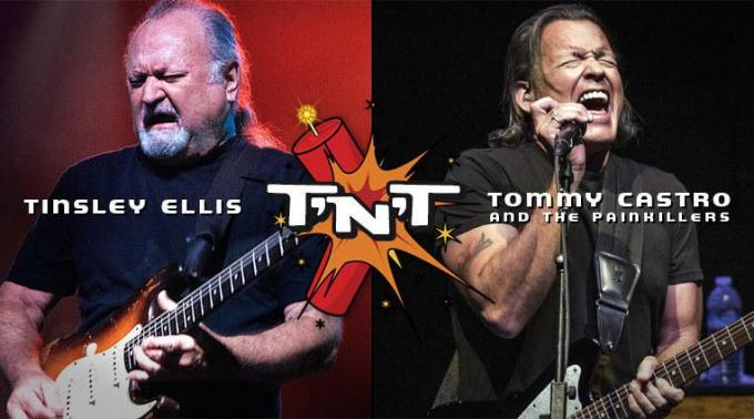 Tinsley Ellis & Tommy Castro at Tennessee Performing Arts Center