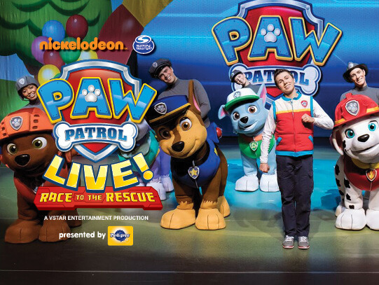 Paw Patrol Live at Tennessee Performing Arts Center