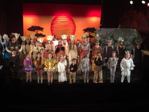 The Lion King Jr. at Tennessee Performing Arts Center
