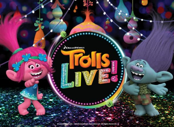 Trolls Live! at Tennessee Performing Arts Center