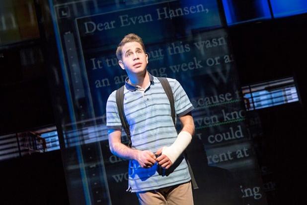 Dear Evan Hansen at Tennessee Performing Arts Center