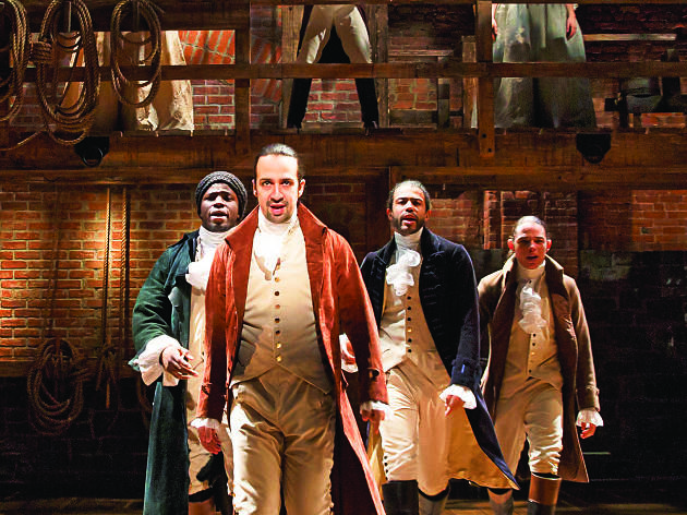Hamilton at Tennessee Performing Arts Center