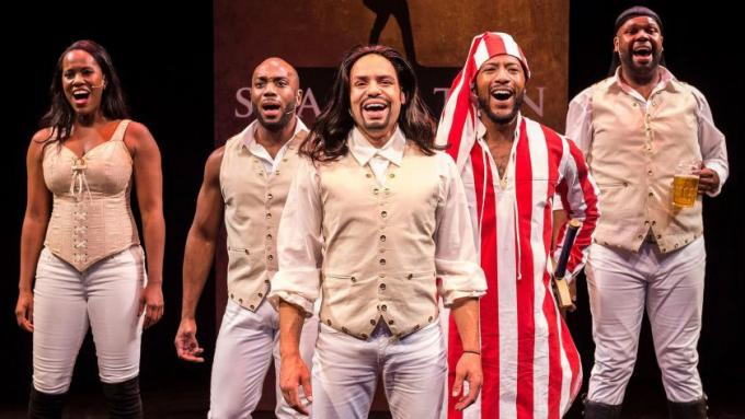 Spamilton at Tennessee Performing Arts Center