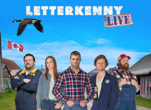 Letterkenny Live [POSTPONED] at Tennessee Performing Arts Center