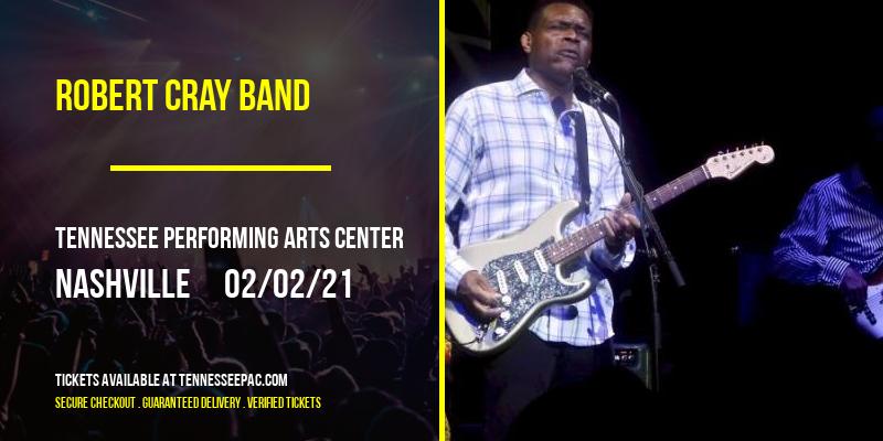 Robert Cray Band at Tennessee Performing Arts Center