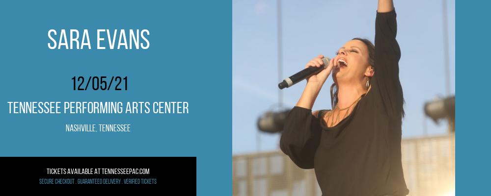 Sara Evans at Tennessee Performing Arts Center