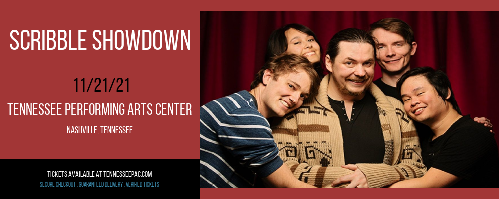 Scribble Showdown at Tennessee Performing Arts Center