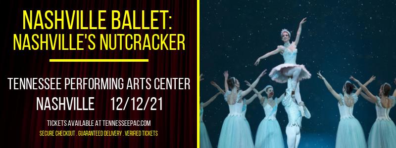 Nashville Ballet: Nashville's Nutcracker [CANCELLED] at Tennessee Performing Arts Center