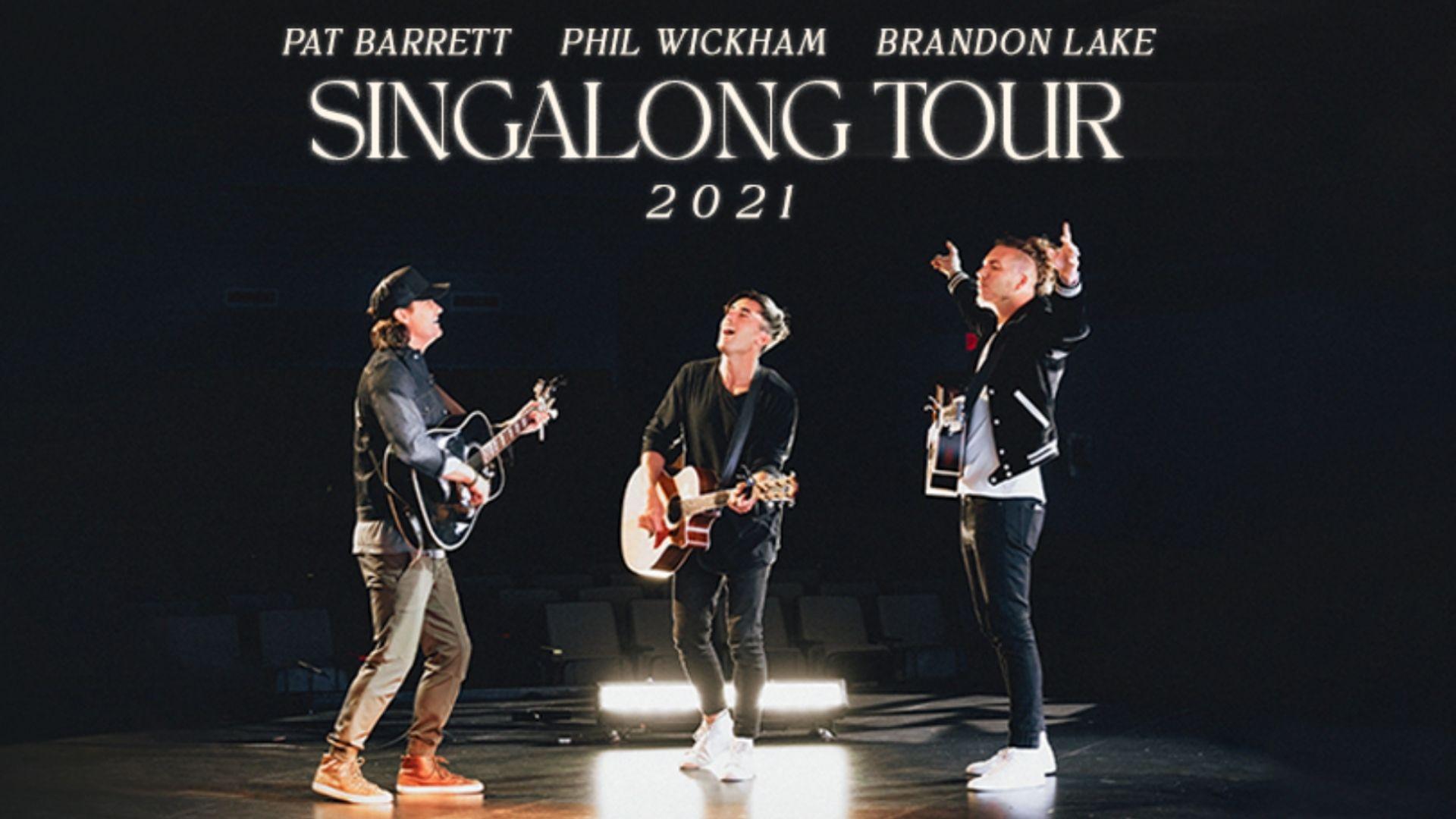 Phil Wickham, Pat Barrett & Brandon Lake at Tennessee Performing Arts Center
