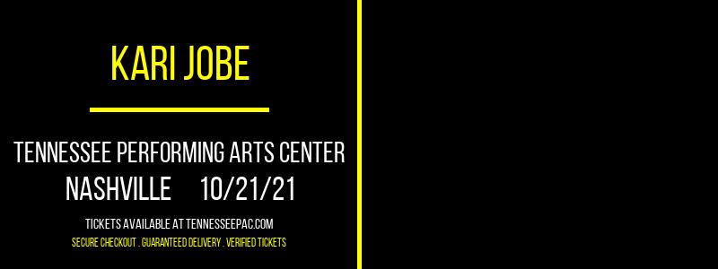Kari Jobe [CANCELLED] at Tennessee Performing Arts Center
