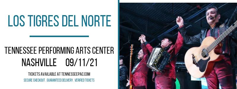Los Tigres del Norte at Tennessee Performing Arts Center